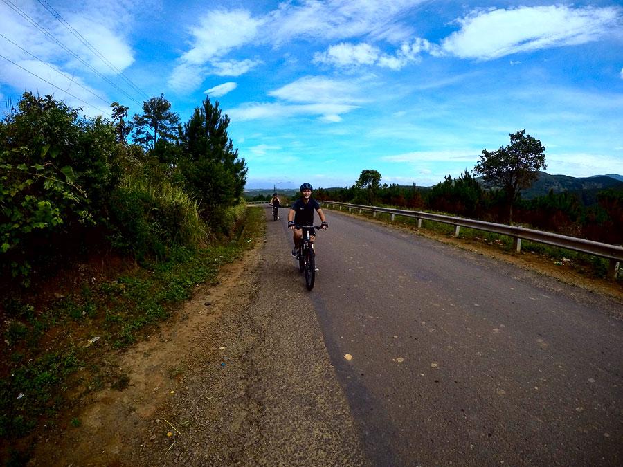 dalat biking
