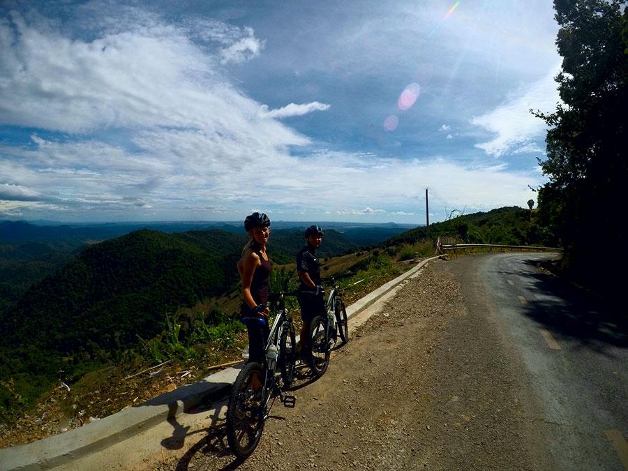 biking to Mui Ne
