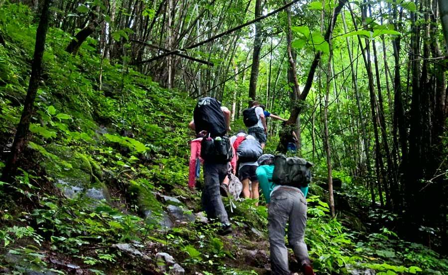 trekking in dalat