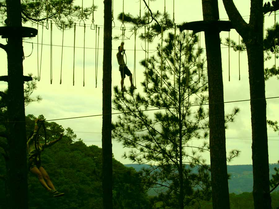 high rope course dalat