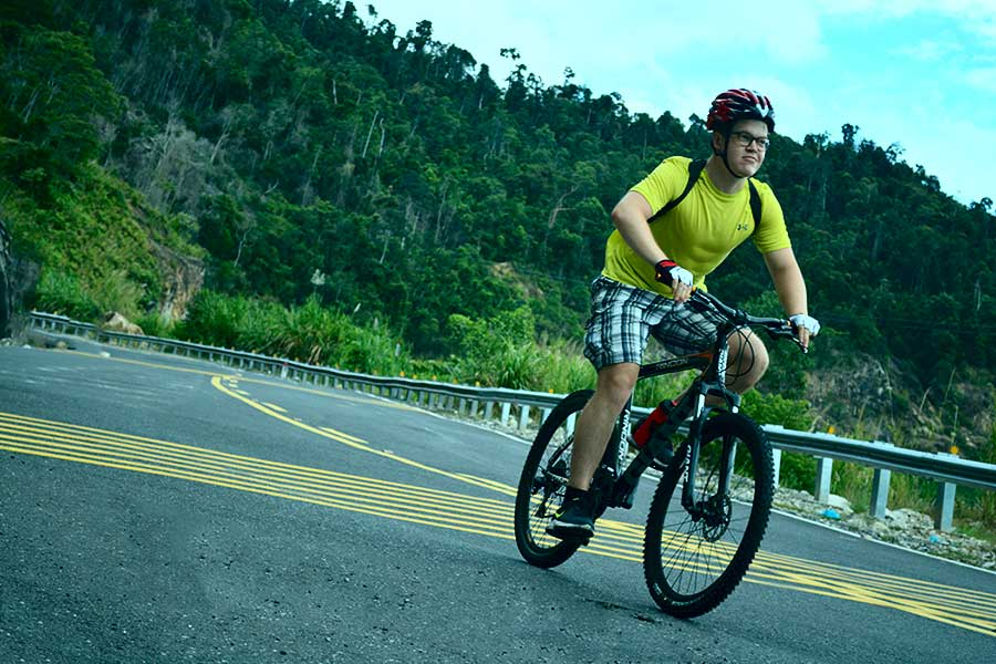 biking to Nha Trang
