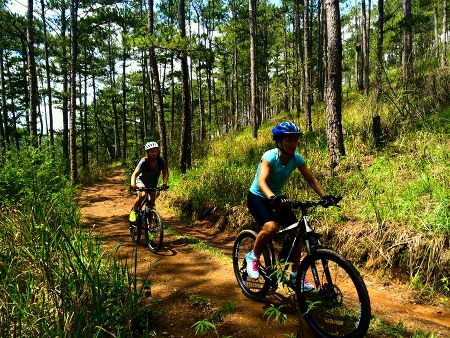 mountain biking dalat