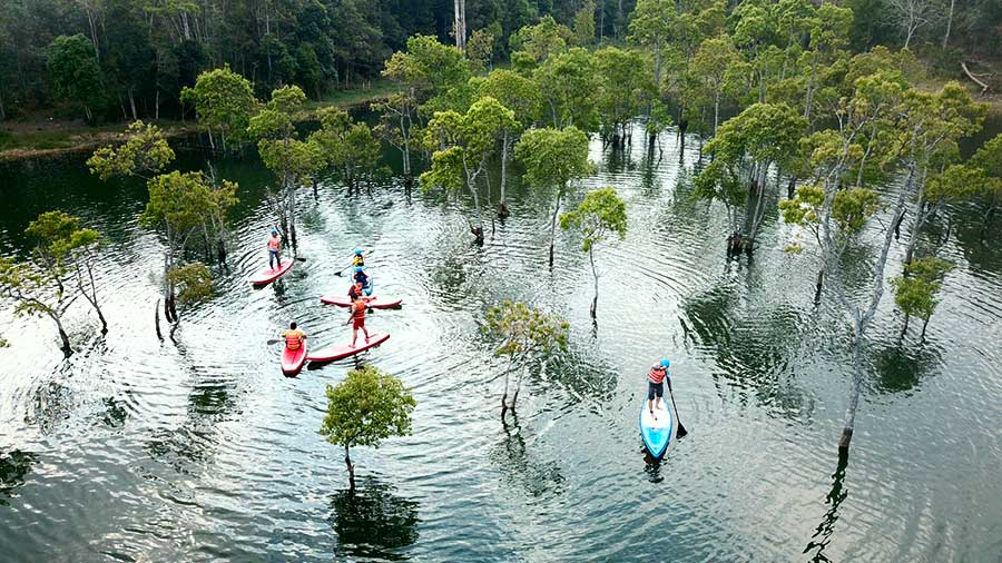 PADDLE BOARD TOUR DALAT