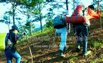 TREKKING ON LANGBIANG-HIGHEST MOUNTAIN